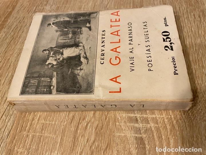 Libros antiguos: LA GALATEA. CERVANTES. VIAJE AL PARNASO Y POESIAS SUELTAS. MADRID, 1934. PAGS:527 - Foto 2 - 181513685