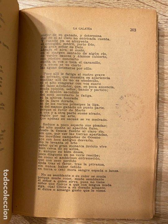 Libros antiguos: LA GALATEA. CERVANTES. VIAJE AL PARNASO Y POESIAS SUELTAS. MADRID, 1934. PAGS:527 - Foto 4 - 181513685