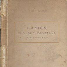 Libros antiguos: CANTOS DE VIDA Y ESPERANZA. LOS CISNES Y OTROS POEMAS / RUBEN DARÍO. BCN : GRANADA ED, 1907. 26X18CM. Lote 182052790