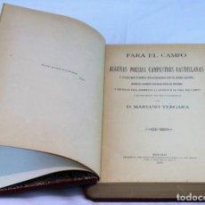 Libros antiguos: ALGUNAS POESÍAS CAMPESTRES CASTELLANAS,MARIANO VERGARA,ASILO DE HUERFANOS DEL S.C. DE JESUS,1899.. Lote 182131190