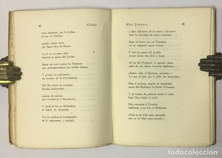 Libros antiguos: GLEBA. - JIMÉNEZ, Max. - Foto 4 - 123203735