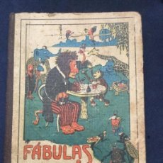 Libros antiguos: FABULAS EN VERSO CASTELLANO POR D. FELIX MARIA SAMANIEGO - EDITORIAL SATURNINO CALLEJA. Lote 182719200