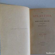 Libros antiguos: LIBRERIA GHOTICA. JACINTO VERDAGUER. LA ATLANTIDA. 1896.EDICIÓN BILINGÜE DE MELCIOR DE PALAU.. Lote 182789221
