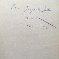 Libros antiguos: MOVIMIENTOS SIN ÉXITO - VAZQUEZ MONTALBAN, MANUEL.- ATENCIÓN: DEDICATORIA DEL AUTOR - PRIMERA EDICIÓ. Lote 183927945
