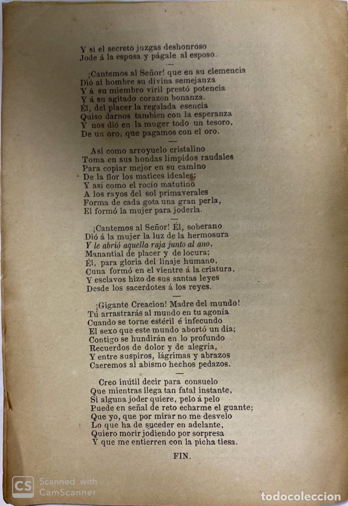 Libros antiguos: LA CREACIÓN. POEMA ÉPICO. MANUEL DEL PALACIO. IMPRENTA ESPAÑOLA. PARIS, 1872. - Foto 7 - 184001872