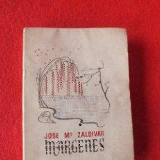 Libros antiguos: LIBRO POESIA MARGENES JOSE Mª ZALDIVAR. Lote 184882548