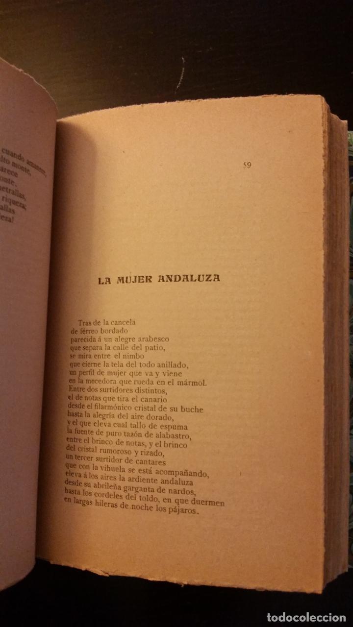 Libros antiguos: 1908 - SALVADOR RUEDA - LENGUAS DE FUEGO - 1ª ED. - Foto 4 - 186156078