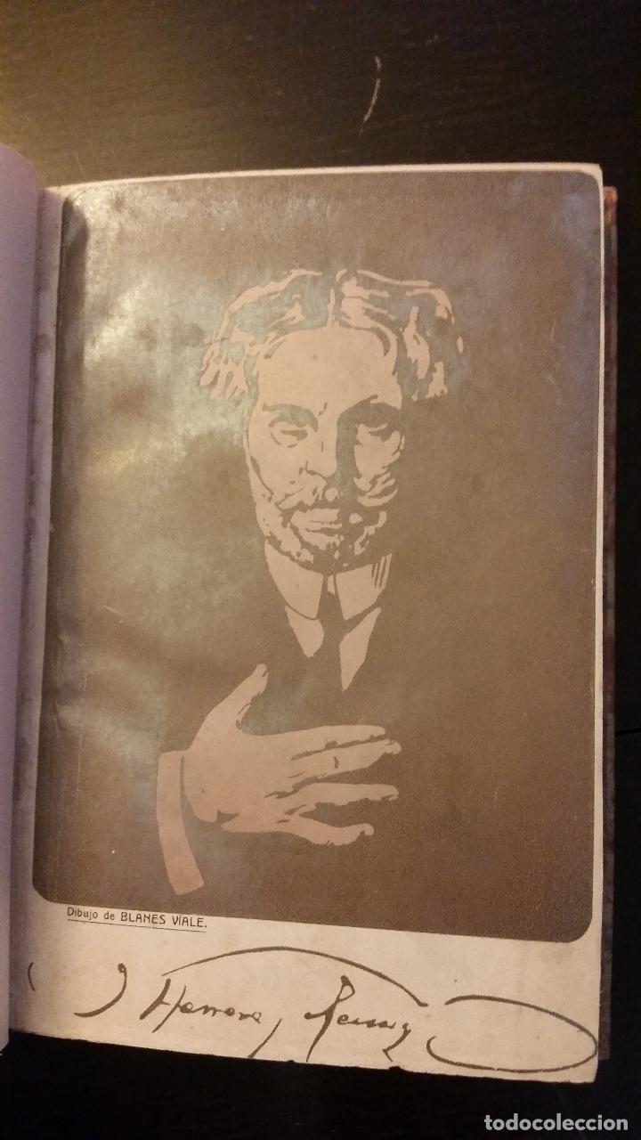 Libros antiguos: 1909 - JULIO HERRERA Y REISSIG - LOS PEREGRINOS DE PIEDRA - 1ª ED. - Foto 2 - 186156225
