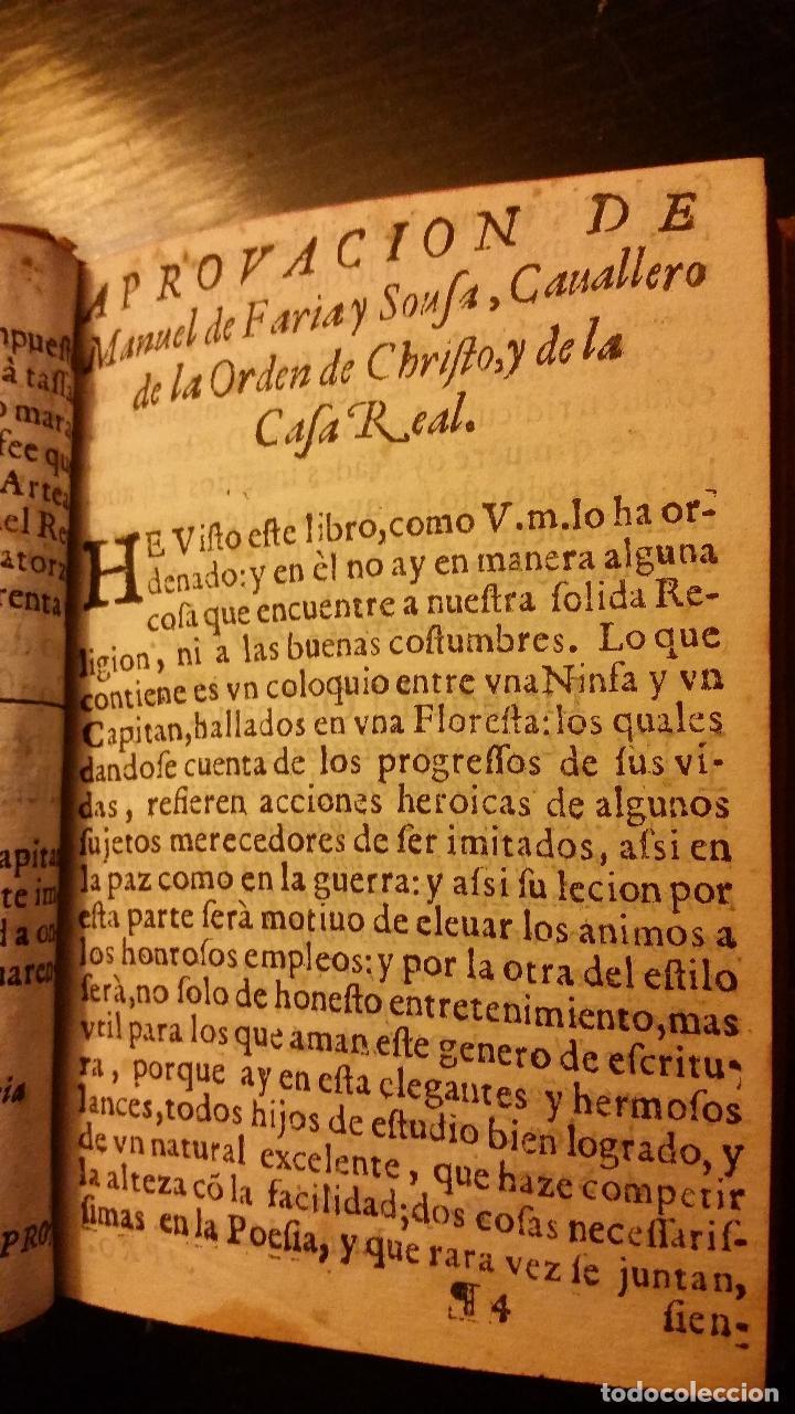 Libros antiguos: 1641 - MIGUEL BOTELLO DE CARVALLO - LA FILIS - PRIMERA EDICIÓN - Foto 4 - 186168848