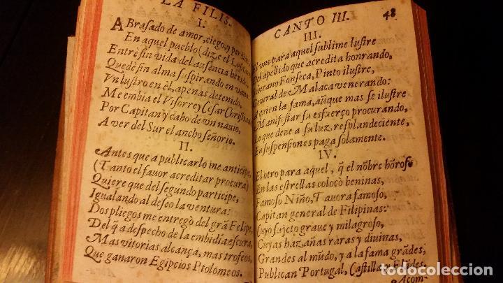 Libros antiguos: 1641 - MIGUEL BOTELLO DE CARVALLO - LA FILIS - PRIMERA EDICIÓN - Foto 7 - 186168848