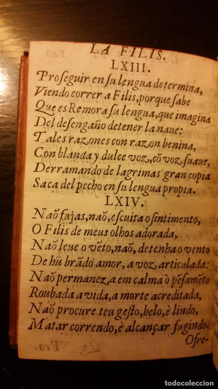 Libros antiguos: 1641 - MIGUEL BOTELLO DE CARVALLO - LA FILIS - PRIMERA EDICIÓN - Foto 9 - 186168848
