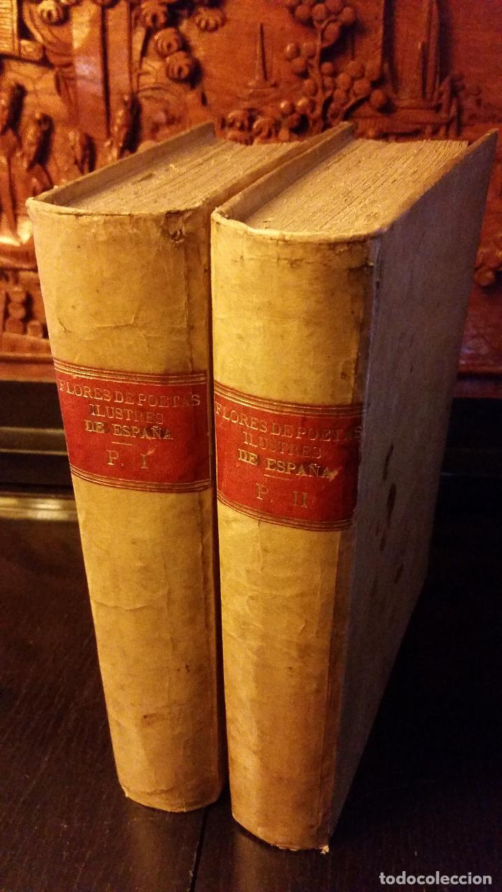 1896 - PEDRO ESPINOSA - PRIMERA (Y SEGUNDA) PARTE DE LAS FLORES DE POETAS ILUSTRES DE ESPAÑA (Libros antiguos (hasta 1936), raros y curiosos - Literatura - Poesía)