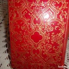 Libros antiguos: OBRAS COMPLETAS DE D. FEDERICO GARCIA LORCA EDITORIAL AGUILAR. PAPEL BIBLIA . ESTÁ NUEVO ES DE 1964. Lote 186350118