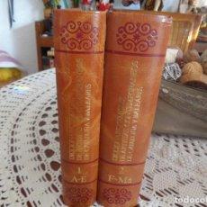 Libros antiguos: DICCIONARIO DE ARTE RAFOLS CASAMADA , SOLO DOS VOLUMENES EL 1 Y EL 2 DE LOS QUATRO DE QUE CONSTA. Lote 186368001