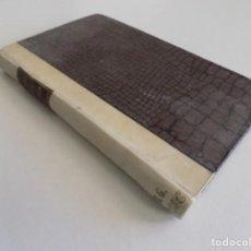 Libros antiguos: LIBRERIA GHOTICA. LUJOSA EDICIÓN DE ANTOLOGIA DE LA LIRICA GALLEGA. 1920.PERGAMINO. Lote 187119483