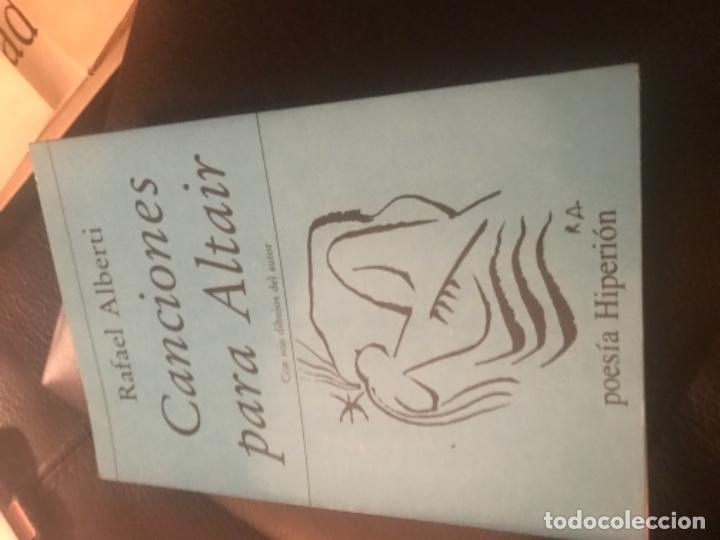 Libros antiguos: 1Edicion Canciones para Altair.Rafael Alberto - Foto 2 - 187459987