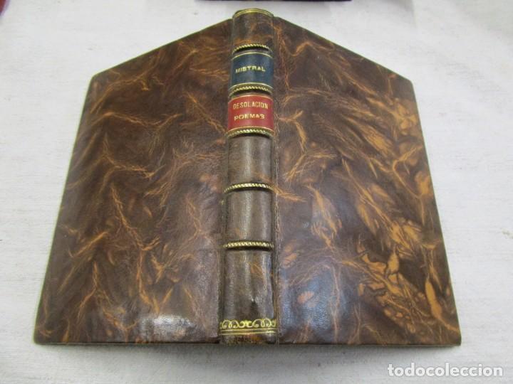 Libros antiguos: RARO - MISTRAL, Gabriela - DESOLACIÓN. POEMAS - New York 1922 - 1ª edición + info y fotos. - Foto 2 - 187462397
