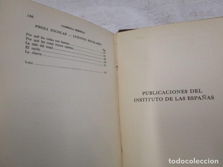 Libros antiguos: RARO - MISTRAL, Gabriela - DESOLACIÓN. POEMAS - New York 1922 - 1ª edición + info y fotos. - Foto 8 - 187462397