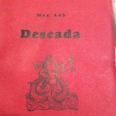 Libros antiguos: DESEADA A MAX AÚB 1EDICION 1950. Lote 187466833