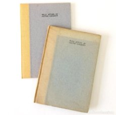 Libros antiguos: WILD APPLES BY OLIVER ST. JOHN GOGARTY - 1930 & 1971 - 1ª & 2ª EDITION - THE CUALA PRESS DUBLIN. Lote 188602985