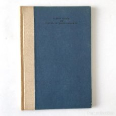 Libros antiguos: ELBOW ROOM BY OLIVER ST. JOHN GOGARTY - 1934 - 1ª EDITION - THE CUALA PRESS DUBLIN IRELAND. Lote 189382548