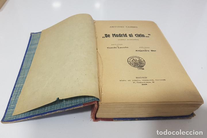 Libros antiguos: DE MADRID AL CIELO, POESÍAS MADRILEÑAS. ANTONIO CASERO (1918) - Foto 2 - 189522421