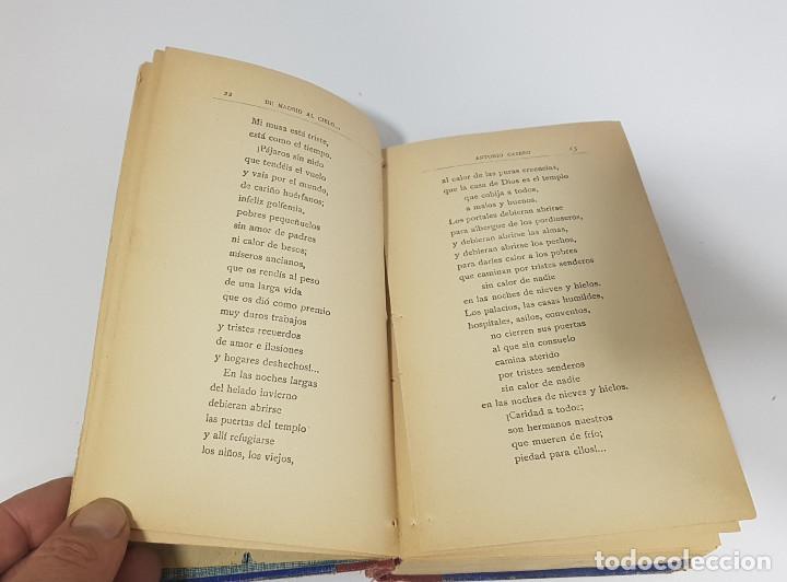 Libros antiguos: DE MADRID AL CIELO, POESÍAS MADRILEÑAS. ANTONIO CASERO (1918) - Foto 3 - 189522421