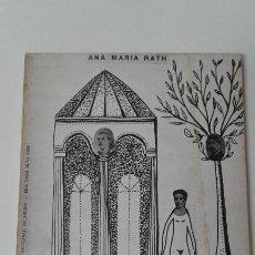 Libros antiguos: INDAGACIONES ACERCA DEL PERSONAJE ANA MARIA RATH FIRMADO Y DEDICADO RARO. Lote 190164807
