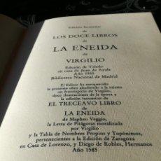 Libros antiguos: LA ENEIDA DE VIRGILIO ES UNA OBRA MAESTRA . Lote 190691371