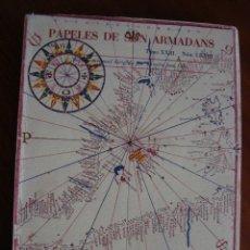 Libros antiguos: HOMENAJE A CARLES RIBA. PAPELES DE SON ARMADANS. MADRID - PALMA DE MALLORCA, 1951.. Lote 190793836