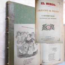 Libros antiguos: COLECCIÓN DE POESÍAS. BERNAT BALDOVÍ JOSÉ. 1859. Lote 191960681