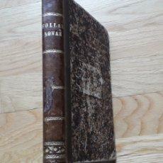 Libros antiguos: FOLLAS NOVAS, ROSALIA DE CASTRO DE MURGUIA, POR EMILIO CASTELAR,. Lote 192690877