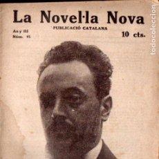 Libros antiguos: E. GIRBAL JAUME : ESPANYA ENDINS - ODA A LA TRAMUNTANA (LA NOVEL.LA NOVA, C. 1920) - CATALÁN. Lote 192856307