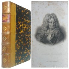 Libros antiguos: 1863 - OBRAS POÉTICAS DE NICOLAS BOILEAU - SÁTIRAS, EPISTOLAS, ARTE POÉTICA - CLASICISMO - RETRATO. Lote 193006381