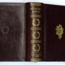 Libros antiguos: AÑO 1934 - ROMANCERO ESPAÑOL - AGUILAR COLECCIÓN JOYA EDICIÓN PRIMITIVA. Lote 193365035