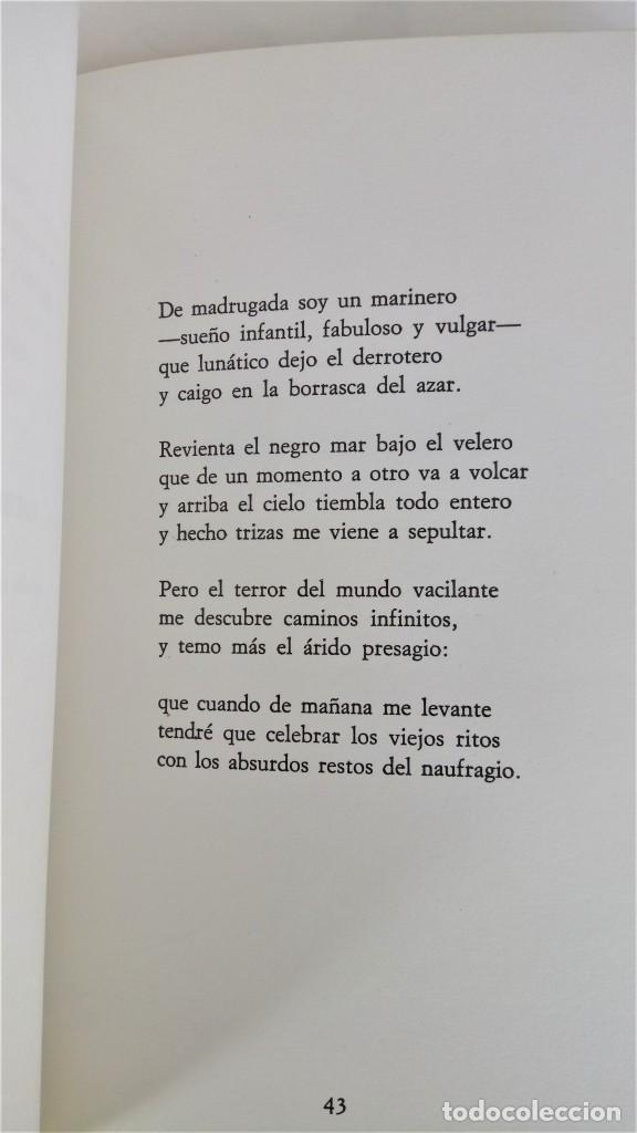 Libros antiguos: POESIA,LIBRO VISPERA DE SAN JUAN,AÑO 1978 DEL FILOSOFO Y ESCRITOR JOSE MARIA CARANDELL,CON AUTOGRAFO - Foto 4 - 193683316