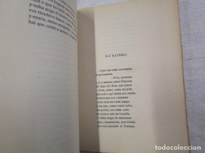 Libros antiguos: GALICIA POESIA - A CARON DO LUME - XAVIER PRADO LAMEIRO - PRIMERA EDICION ORENSE 1918 + INFO - Foto 3 - 193952826