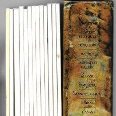 Libros antiguos: BENITO SOTO ESTUCHE CON 12 LIBROS Y 1 ESPLICATIVO ,DE LOS LIBROS PUBLICADOS EN GALLEGO. Lote 194206565