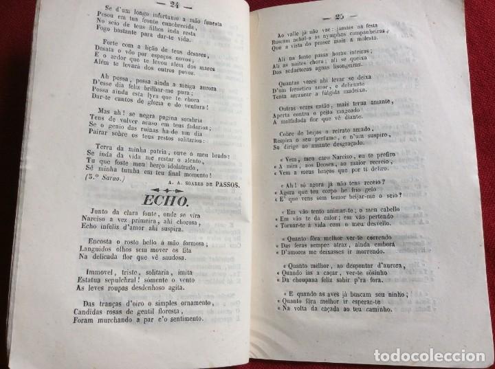Libros antiguos: Poemas poéticos de Oporto, publicad. en beneficio... por J. A. de Freitas Junior, 1854. Envio grátis - Foto 4 - 194333253