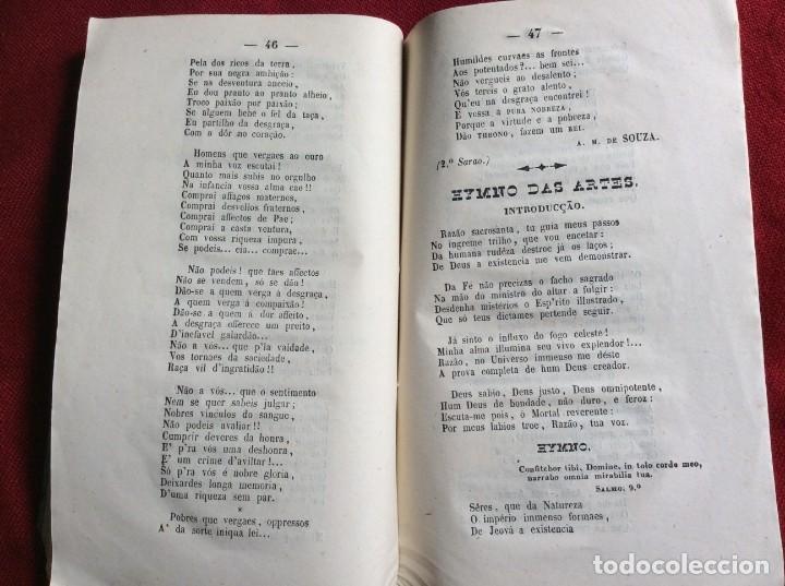 Libros antiguos: Poemas poéticos de Oporto, publicad. en beneficio... por J. A. de Freitas Junior, 1854. Envio grátis - Foto 6 - 194333253
