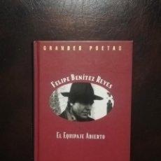 Libros antiguos: EL EQUIPAJE ABIERTO FELIPE BENÍTEZ REYES. Lote 194337173
