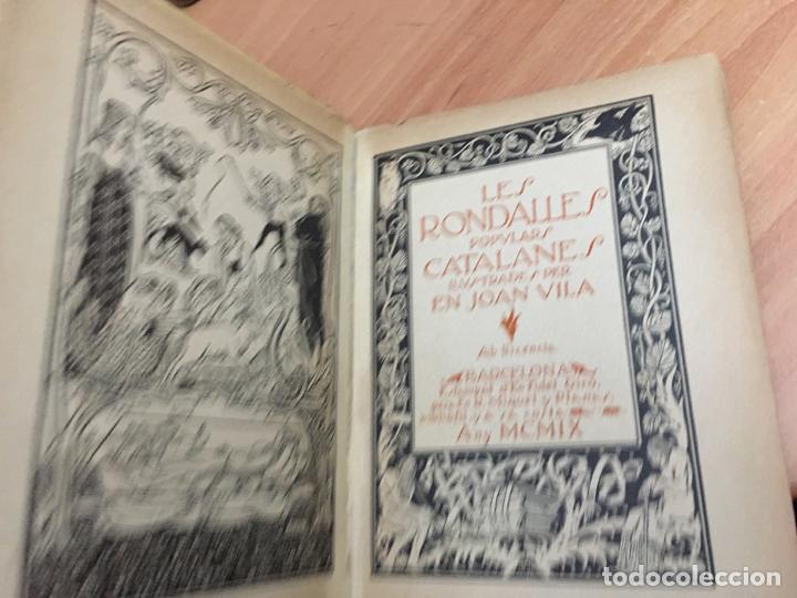 Libros antiguos: LES RONDALLES CATALANES ILUSTRADES PER EN JOAN VILA. 1909 (COIB59) - Foto 5 - 194346465