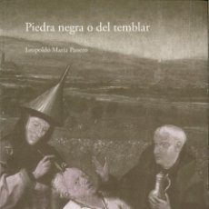 Libros antiguos: 'PIEDRA NEGRA O DEL TEMBLAR' + 'CONTRA ESPAÑA Y OTROS POEMAS NO DE AMOR' (LEOPOLDO MARÍA PANERO). Lote 194407085