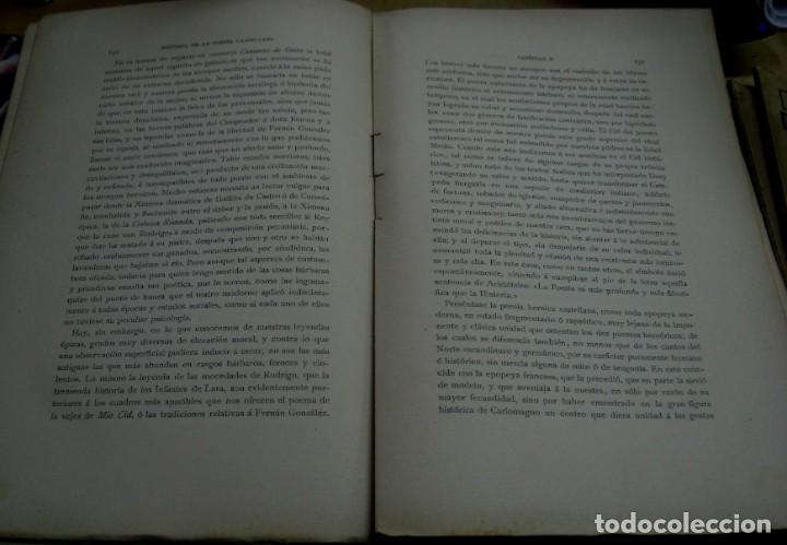 Libros antiguos: HISTORIA DE LA POESÍA CASTELLANA EN LA EDAD MEDIA TOMO I MARCELINO MENÉNDEZ PELAYO AÑO 1911-1913 - Foto 2 - 194495432