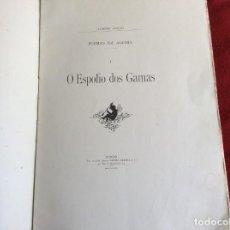 Libros antiguos: POEMAS DE AGONÍA I. EL BOTÍN DE LAS GAMAS. POR ALFREDO CEYLÃO, 1891, 1.ª EDICIÓN. ENVIO GRÁTIS.. Lote 194498421
