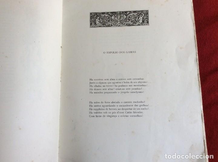 Libros antiguos: Poemas de agonía I. El botín de las gamas. Por Alfredo Ceylão, 1891, 1.ª edición. Envio grátis. - Foto 3 - 194498421