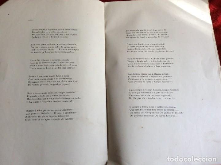Libros antiguos: Poemas de agonía I. El botín de las gamas. Por Alfredo Ceylão, 1891, 1.ª edición. Envio grátis. - Foto 6 - 194498421