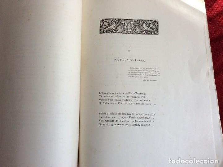 Libros antiguos: Poemas de agonía I. El botín de las gamas. Por Alfredo Ceylão, 1891, 1.ª edición. Envio grátis. - Foto 7 - 194498421