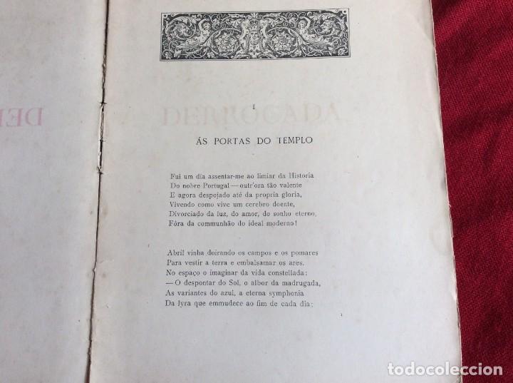 Libros antiguos: Poemas de agonía II. Derrocado. Por Alfredo Ceylão, 1893. 1.ª edición. Muy raro. Envio grátis. - Foto 3 - 194499675