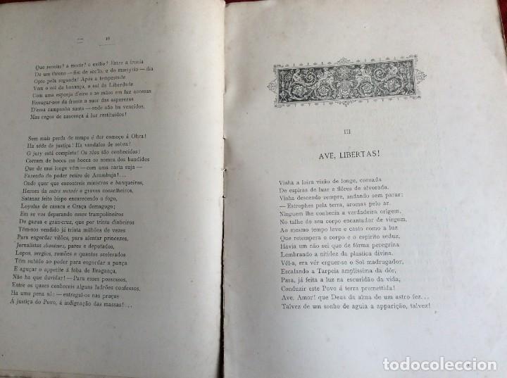 Libros antiguos: Poemas de agonía II. Derrocado. Por Alfredo Ceylão, 1893. 1.ª edición. Muy raro. Envio grátis. - Foto 4 - 194499675